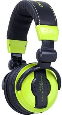 American Audio Hp550 Professional Studio Headphones Lime (Lime) Headphones