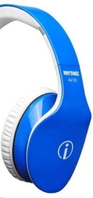 Rhythmz Air High Definition Limited Edition Headphones In Blue Fast Us Ship Headphones