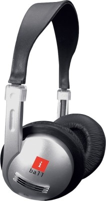 iBall i630MV Headphones(Black, Over the Ear)