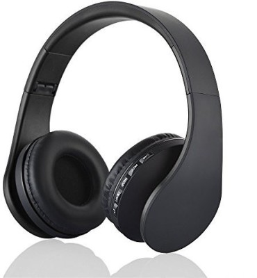 Esonstyle Foldable Wireless Bluetooth Over-Ear Stereo Headphone Headset Earphones, Stereo Audio With Hands-Free Calling Function Audio Cable Included  Wired bluetooth Headphones