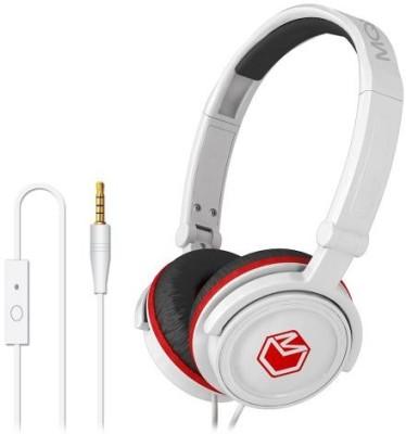 Mqbix Mqht450Wht High Performance Headphones With Mic Headphones