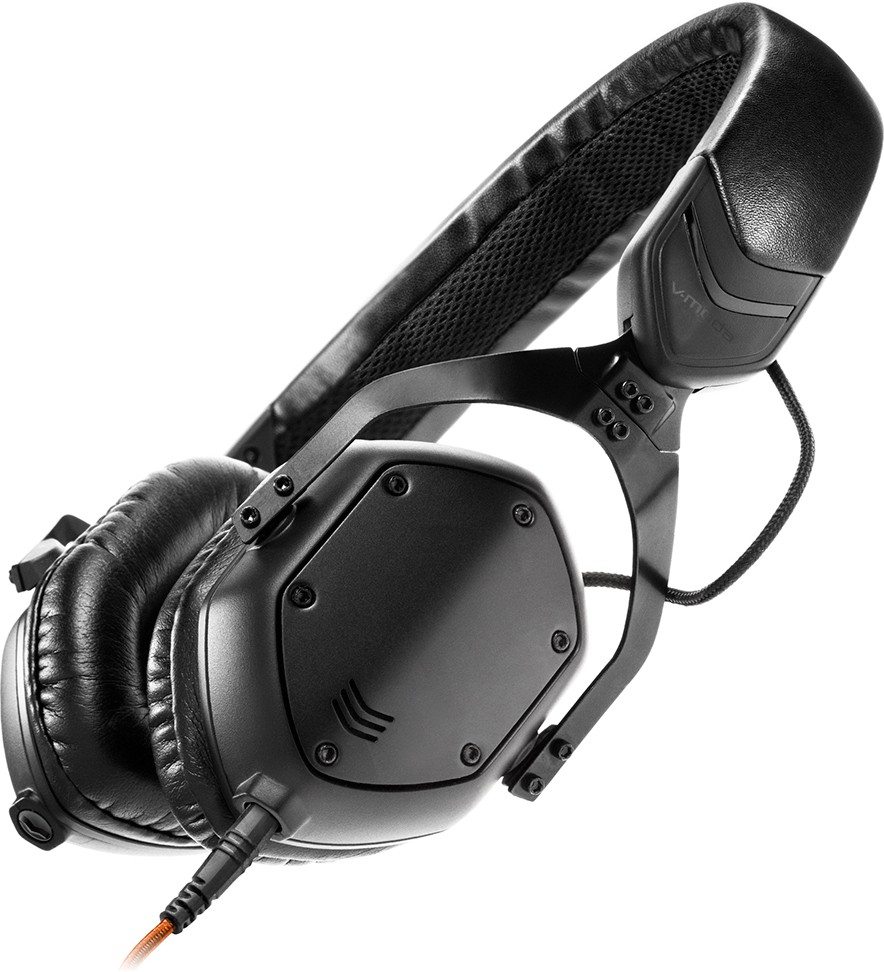 V-MODA XS - Matte Black Wired Headset With Mic(Black)