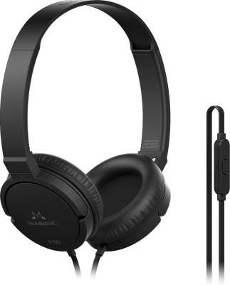 SoundMagic P10S Wired Headset With Mic(Black) at flipkart