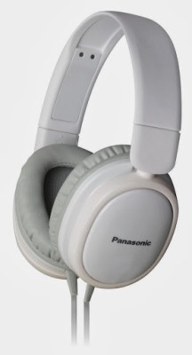 Panasonic RP-HX250ME Wired Headset With Mic(White)