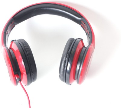 Callmate SMS006R Wired Headset With Mic(Red)