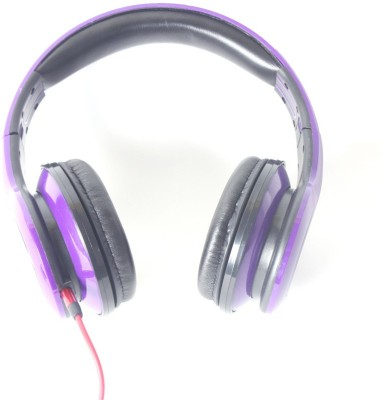 Callmate SMS006PU Wired Headset With Mic(Purple)