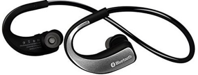 Sunorm Sunorm Bluetooth 4.0 Sport Headset Wireless Headphones rophone for Sport Running Noise Cancelling Earbud Earphone for Cell Phone (Silver) Wireless Bluetooth Headset With Mic(Blue)