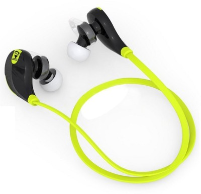 Green QY7 Wireless Bluetooth Headset With Mic(TAGG)