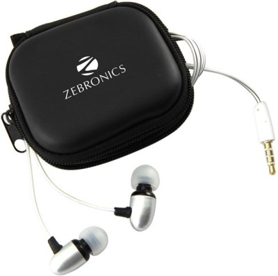 Zebronics Em2 With Mic Wired Headset With Mic(White)