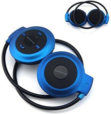 Fifine FiFine Wireless Bluetooth Music Stereo Universal Headset Headphone for iPhone iPad Samsung, blue Wireless Bluetooth Headset With Mic(Blue)