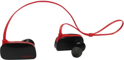 Corseca 4710BT Wireless Bluetooth Headset With Mic(Red/Black)