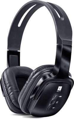 iBall Pulse-BT4 Wireless Bluetooth Headset With Mic(Black)