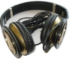 Shrih Flat Wire Headphone Wired Headset ...