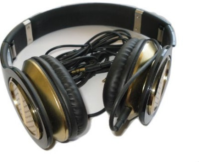 Shrih Flat Wire Headphone Wired Headset