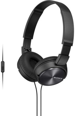 Sony MDR-XB450AP_Black Wired Headset With Mic(Black)