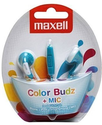 Maxell ColourBuds with Mic Wired Headset