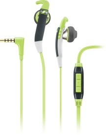 Sennheiser MX 686G Sports Wired Headset With Mic(Green)