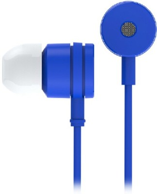 BeatessBeatz Earphones for Xiaomi Models Wired Headset With Mic(Blue)