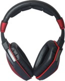 Circle Wager Wired Headset With Mic (Bla...