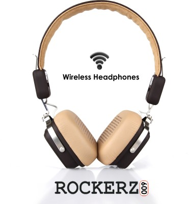 boAt Rockerz 600 Wired & Wireless Bluetooth Headset With Mic(Brown)