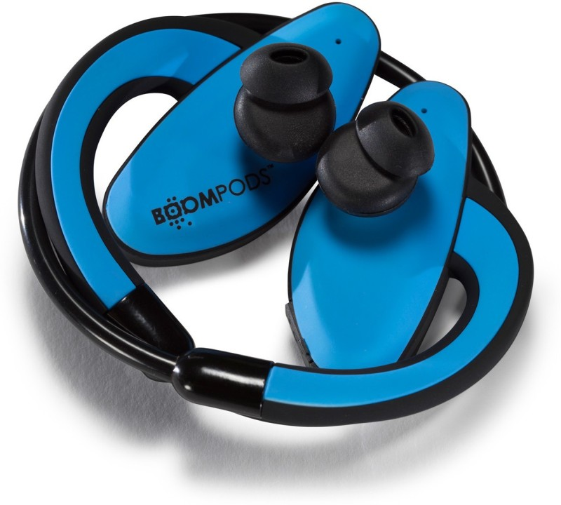 Boompods Sportspod Wireless Bluetooth Headset With Mic(Blue)