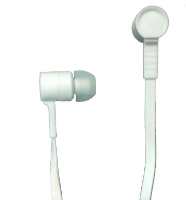 SDZ Gold Series White Universal Hi-Bas Wired Headset
