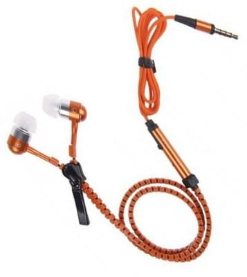 Casreen 1103051 Premium ZIpper Style Wired Headset