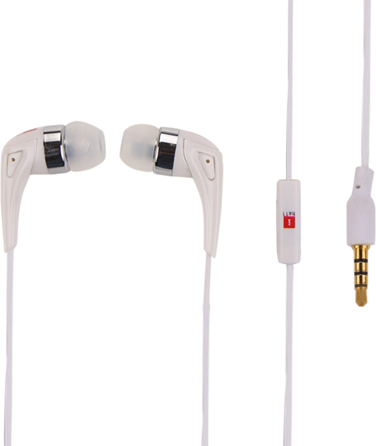 Iball Spark A6 Wired Headset With Mic(White)