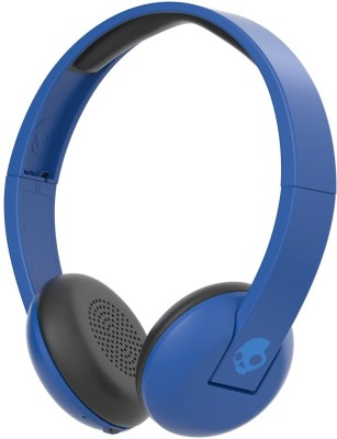 Skullcandy S5URJW-546 Wireless Bluetooth Headset With Mic(Blue)
