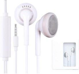 Vintage Shop TopSelling Earphone for Vivo, All Android Headset & Tablet Wired Headset With Mic(White)