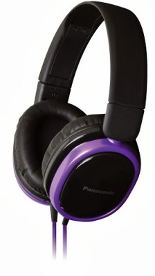 Panasonic RP-HX250ME Wired Headset With Mic(Violet)