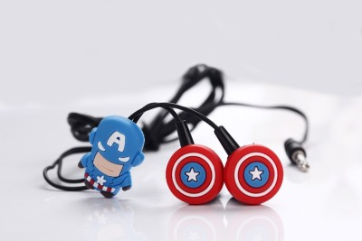 Qline Captain America Wired Headset