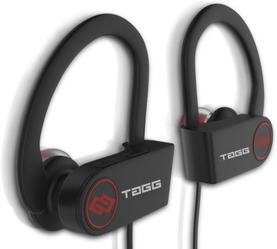 TAGG Inferno, Stereo Sports Wireless Bluetooth Headset With Mic(Black)
