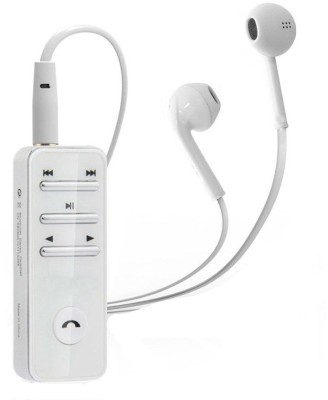 Shrih Universal Wireless Bluetooth Headset With Mic(White)