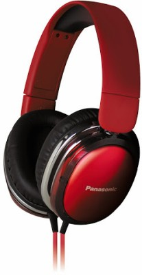 Panasonic RP-HX350ME Wired Headset With Mic(Red)
