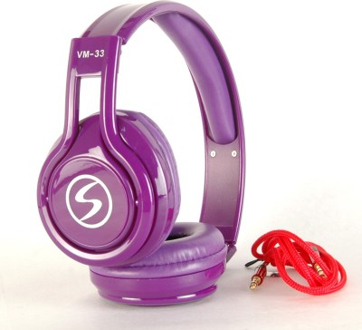 Zoon SIGNATURE-VM 33-PURPLE SOUND BLAST SERIES Wired Headset