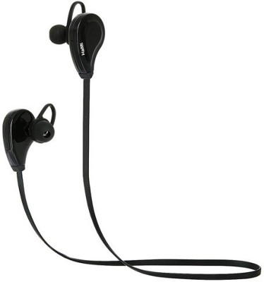 HaMi Noise Cancelling Earbuds Wireless Bluetooth Headset With Mic(Black)