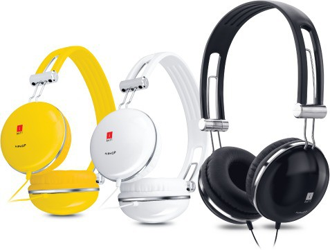 iBall HipHop Wired Headset With Mic(Yellow)
