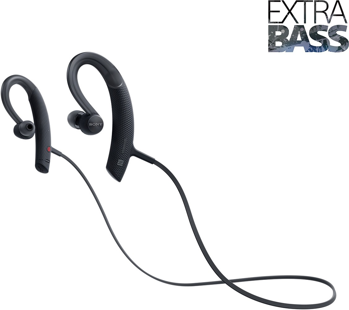Sony MDR-XB80BS/BZE EXTRA BASS Active Sports Wireless Bluetooth Headset With Mic(Black)