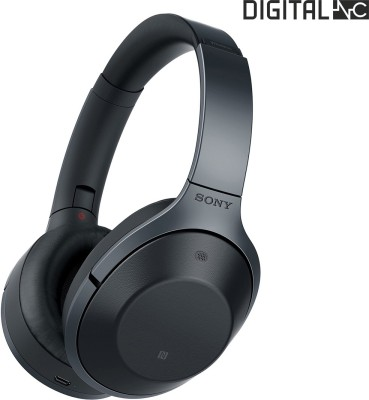 Sony MDR-1000X Digital Noise Cancellation with Hi-Res Audio Wireless Bluetooth Headset With Mic(Black)