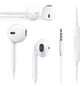 SSN Ape-Ear-2 Wired Headset With Mic(White)
