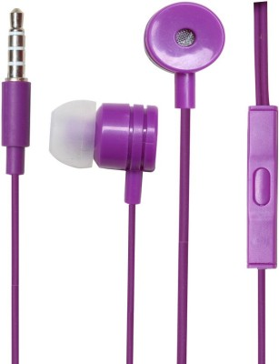 ZOON PAPER BOX-PURPLE SOUND BLAST SERIES Wired Headset