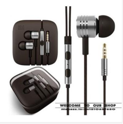 GG Enterprises Silver Xiaomi Piston Design 3.5mm earphones Wired Headset