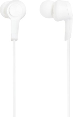 LatestTrend SJ52TE008 Wired Headset With Mic(White)
