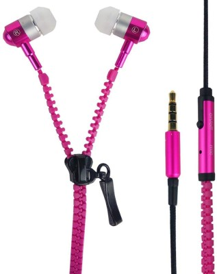 Y And D Zipper Style Earphones Zipper Style Earphones Wired Headphones