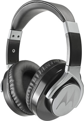 Motorola Pulse Max Wired Headset With Mic(Black)