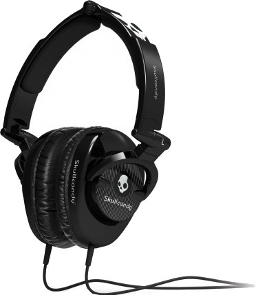 Skullcandy S6SKFZ-003 Wired Headset With Mic(Black)