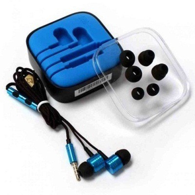 Wellcare Piston WHPP07-Blue Wired Headset