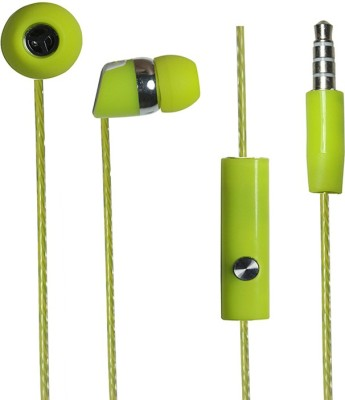 Zoon Pure Sound Bj Gold 666 Green Wired Headset
