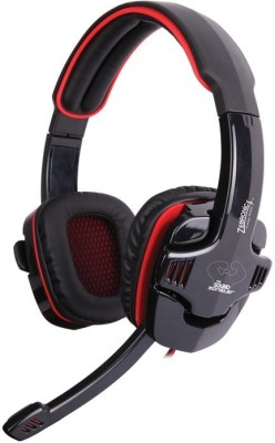 Zebronics Iron Head 7.1 Surround Sound Wired Headset With Mic(Black)
